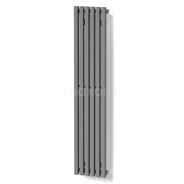 Aluminium Designradiator Sol Lichtgrijs Metallic 524 Watt 25x120cm Verticaal DR59_0612RL