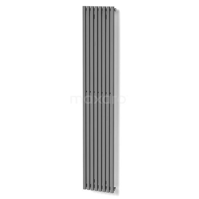 Aluminium Designradiator Sol Lichtgrijs Metallic 1049 Watt 33,5x180cm Verticaal DR59_0818RL