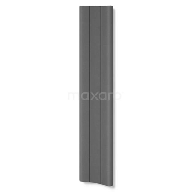 Aluminium Designradiator Carme Donkergrijs Metallic 774 Watt 37x180cm Verticaal DR62_0318RD