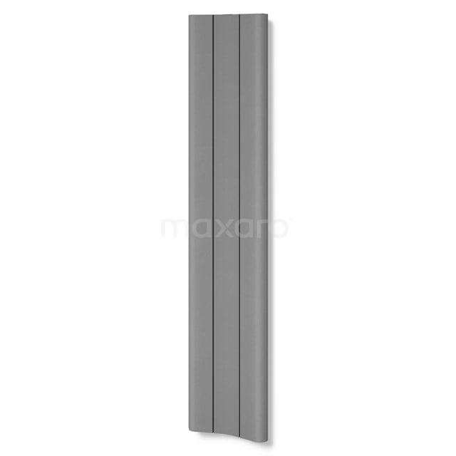 Aluminium Designradiator Carme Lichtgrijs Metallic 774 Watt 37x180cm Verticaal DR62_0318RL