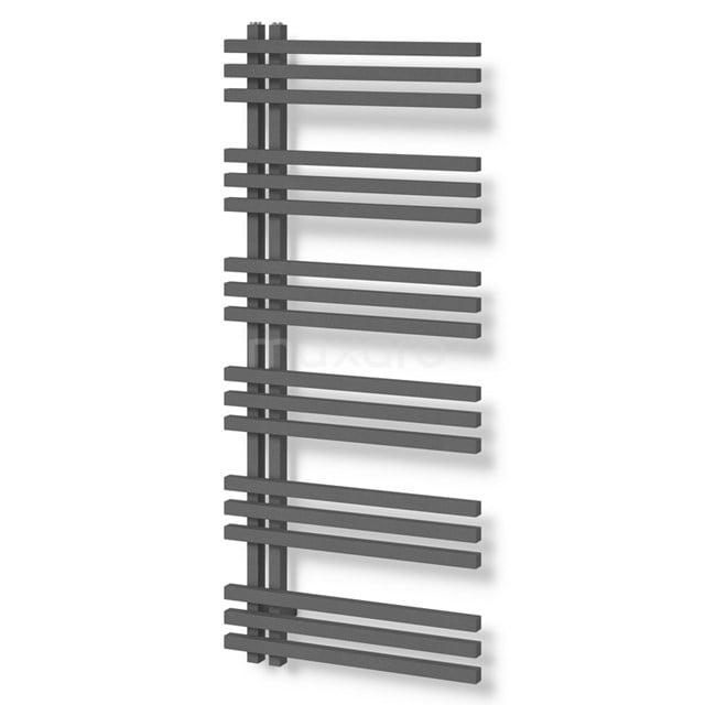 Aluminium Handdoekradiator Kepler Donkergrijs Metallic 1001 Watt 55x129,6cm Verticaal DR63_0513RDN