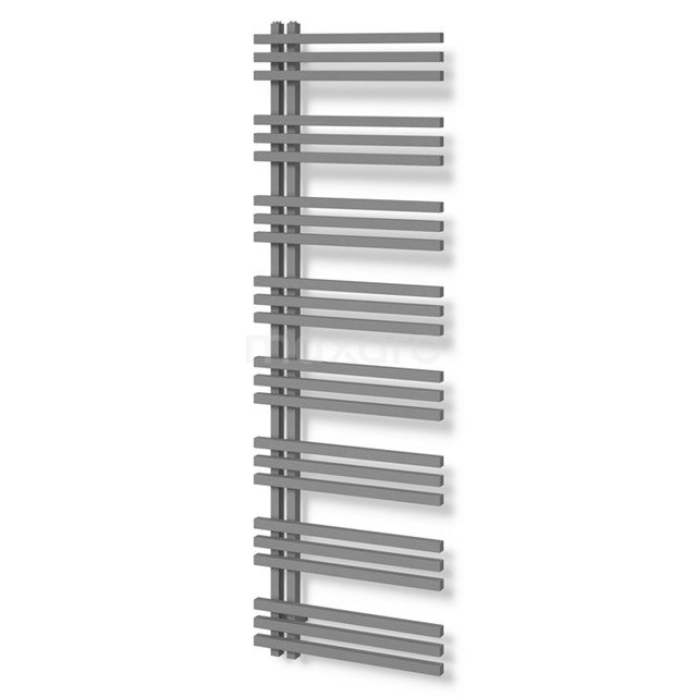 Aluminium Handdoekradiator Kepler Lichtgrijs Metallic 1242 Watt 55x174cm Verticaal DR63_0517RLN