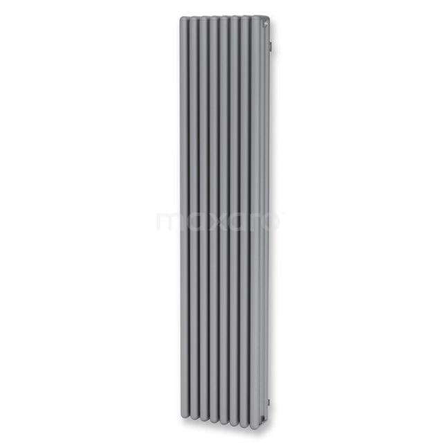 Aluminium Designradiator Triton Lichtgrijs Metallic 3864 Watt 39x180cm Verticaal DR64_0818RL