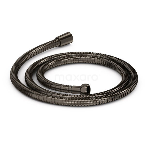 Doucheslang Radius Black Steel, 100Cm, Zwart Metaal 99.400.100ZM