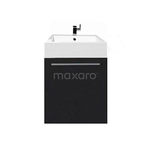 Toiletmeubel met Wastafel Mineraalmarmer Canto Zwart 45cm F02-045012101B