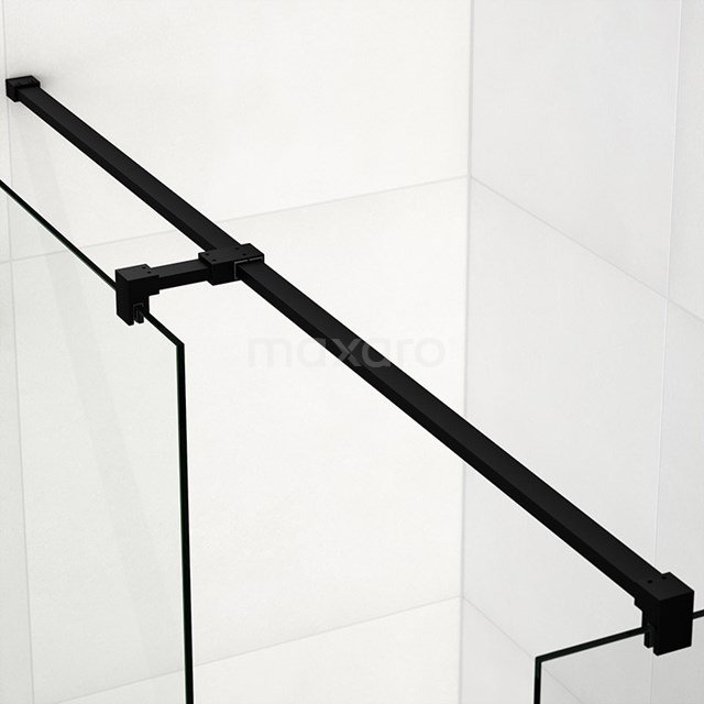 Stabilisatiestang Recht met T-stuk 8mm Mat Zwart 140cm SBT1400M
