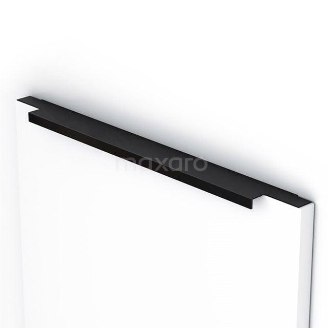 Mano 80 handgreep, semi-greeploos, 1190mm, zwart H80-1190-22