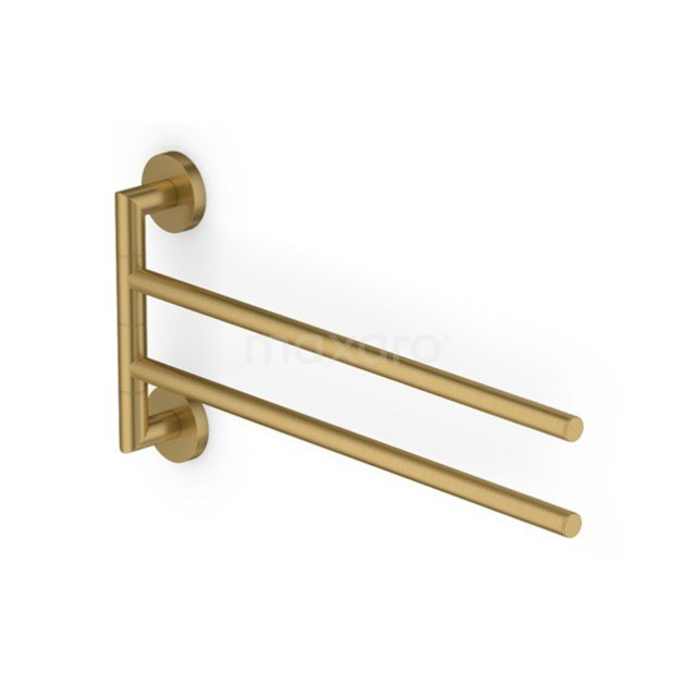 Handdoekenrek Radius Gold, Draaibaar, Goud 150-0401GG