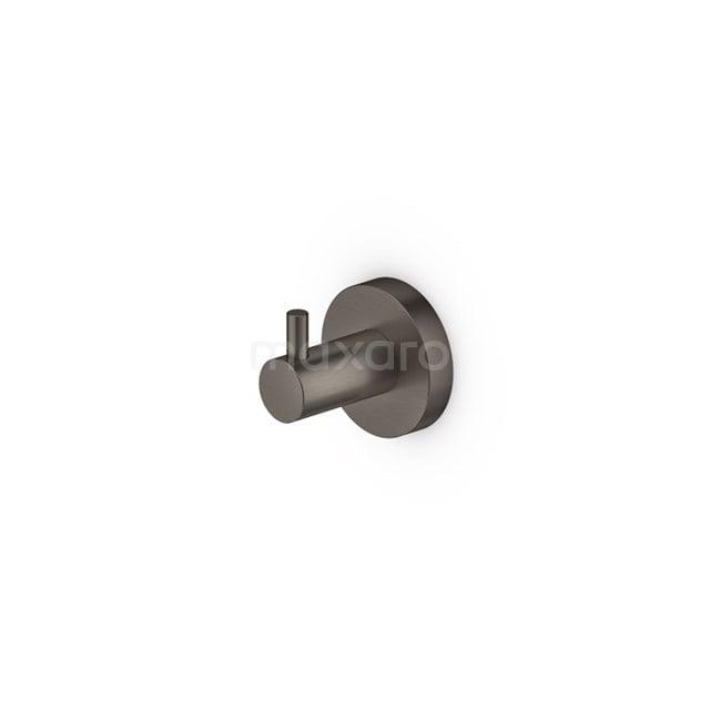 Handdoekhaak Radius Black Steel, Zwart Metaal 150-0602ZM