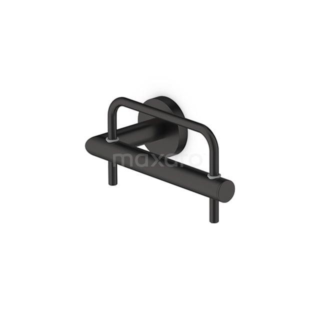 Toiletrolhouder Radius Black, Zwart 150-1101MB