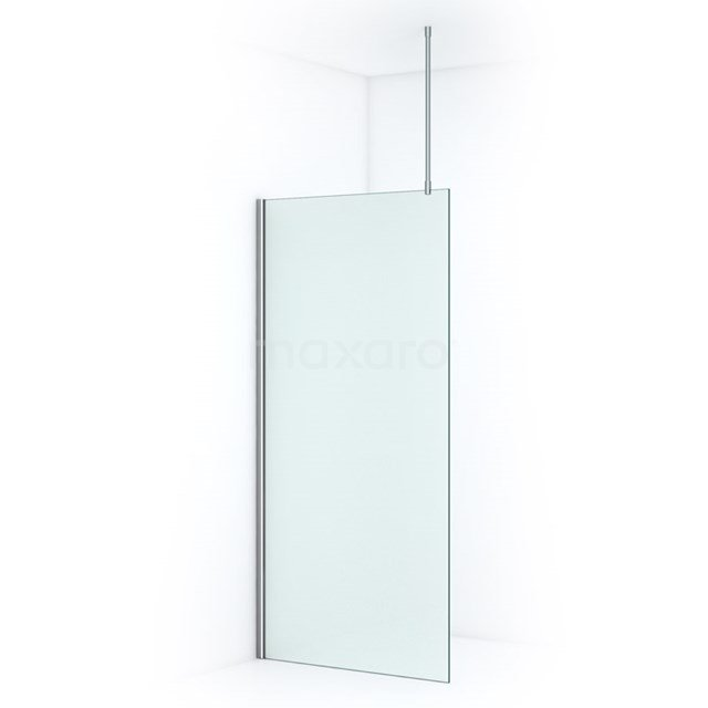 Douchewand Inloopdouche Pearl 100cm Matglas Veiligheidsglas 8mm Chroom IPA10707C