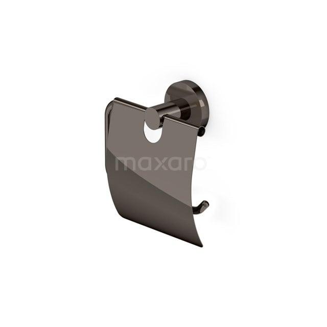 Toiletrolhouder Radius Black Chrome, Zwart Chroom 150-1105BC