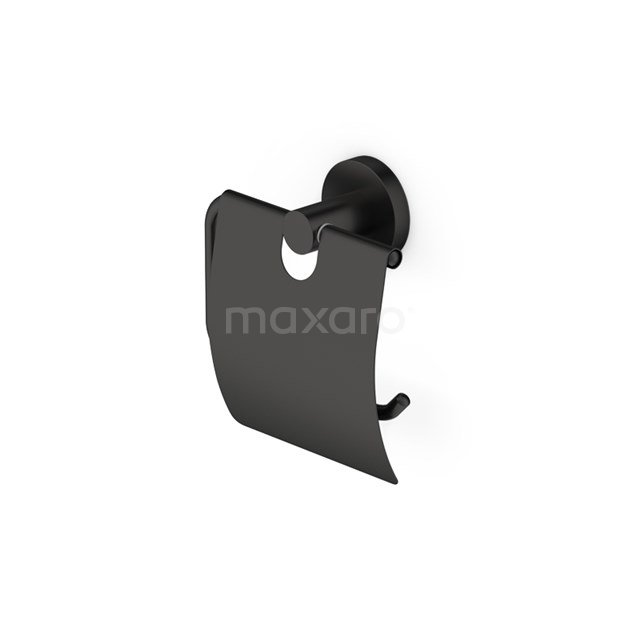 Toiletrolhouder Radius Black, Zwart 150-1105MB