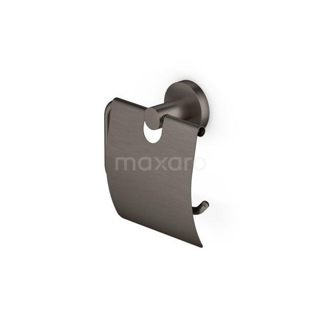 Toiletrolhouder Radius Black Steel, Zwart Metaal 150-1105ZM