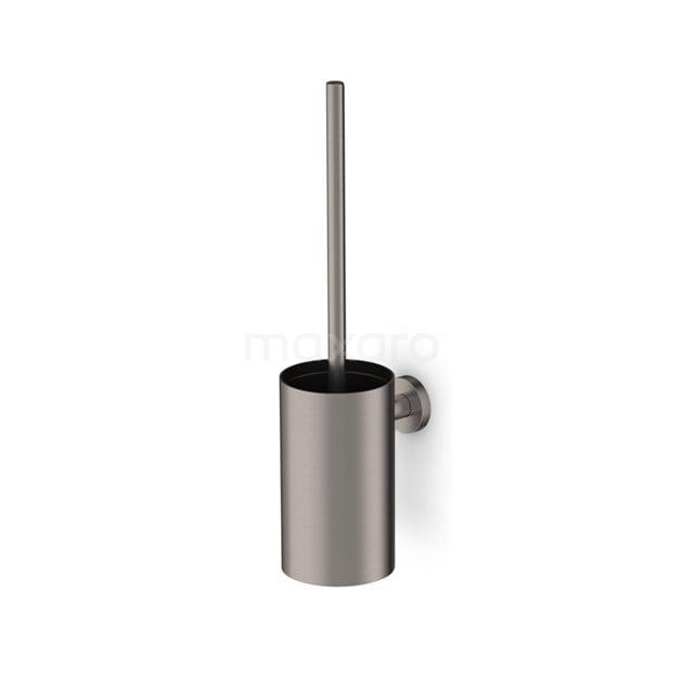 WC Borstel Radius Steel, Hangend, Rvs-look 150-1203BR