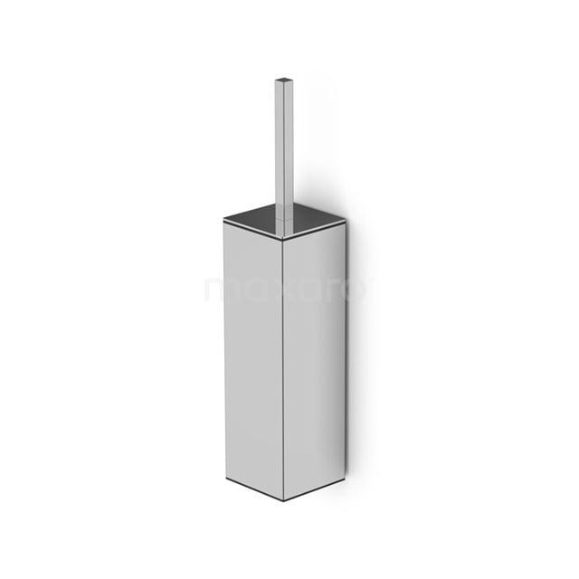 WC Borstel Cubic Chrome, Hangend, Chroom 250-1202