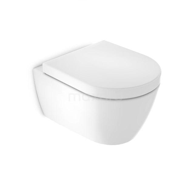Hangend Toilet Classico Diepspoel Wit Verkort Toilet 300.0373