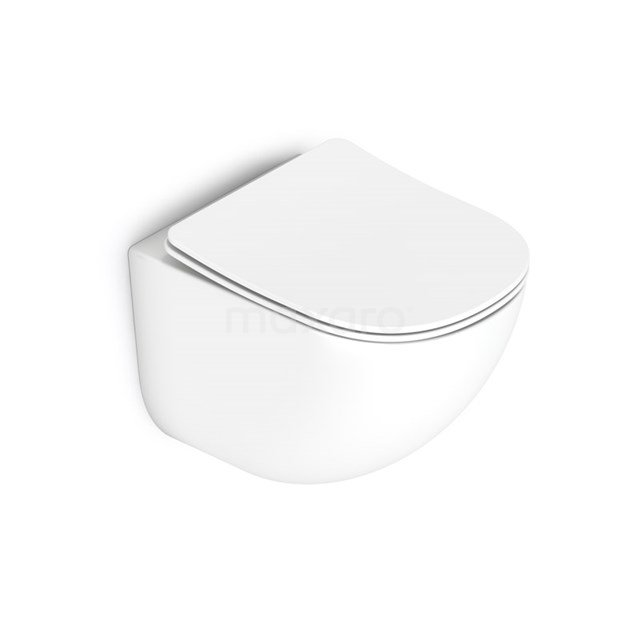 Hangend Toilet Colorato Keramiek Easy Clean 300.0377MW