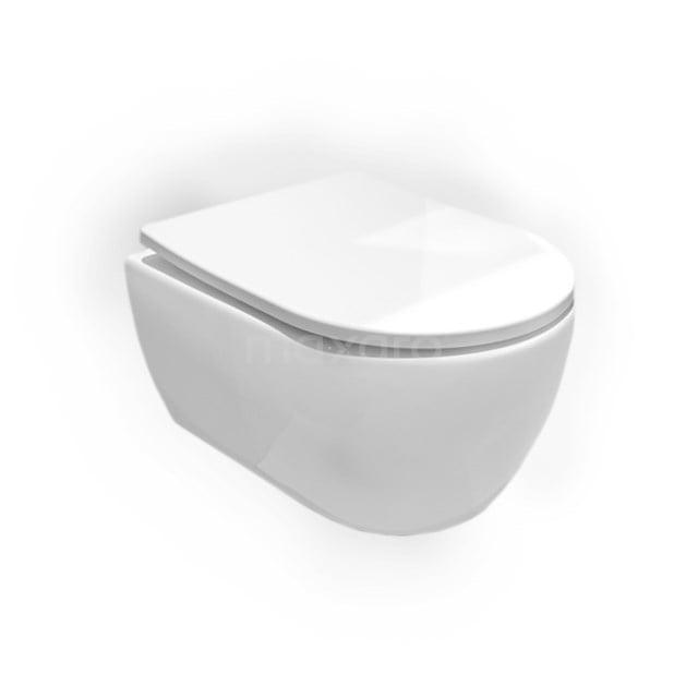 Hangend Toilet Senza Zonder Spoelrand Diepspoel Wit Verkort Toilet 300.0383