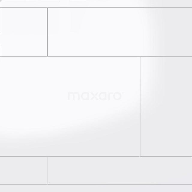 Wandtegel Blanco Strokenmix Uni Wit Glanzend Gerectificeerd 301-500131