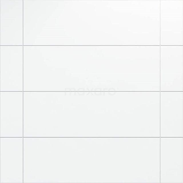 Wandtegel Blanco 30x90cm Uni Wit Mat Gerectificeerd 301-500302