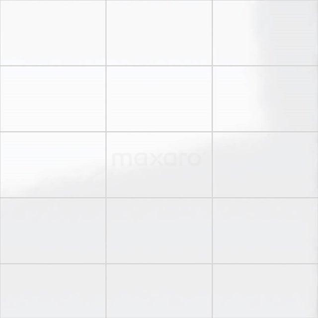 Wandtegel Blanco 25x40cm Uni Wit Glanzend 301-500401