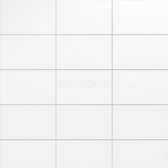 Wandtegel Blanco 25x40cm Uni Wit Mat 301-500402