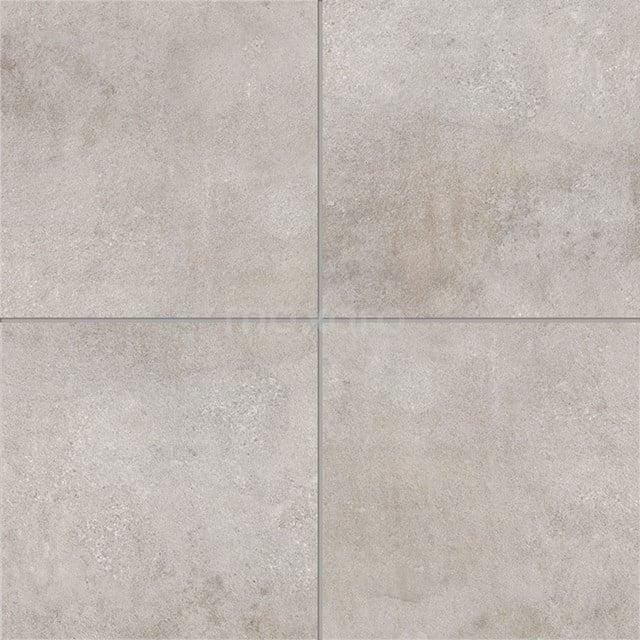 Vloertegel/Wandtegel Loft Silver 60x60cm Betonlook Grijs Gerectificeerd 304-040301