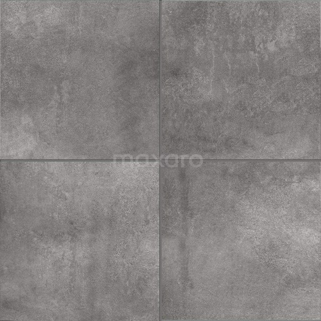 Vloertegel/Wandtegel Loft Ceniza 60x60cm Betonlook Grijs Gerectificeerd 304-040302