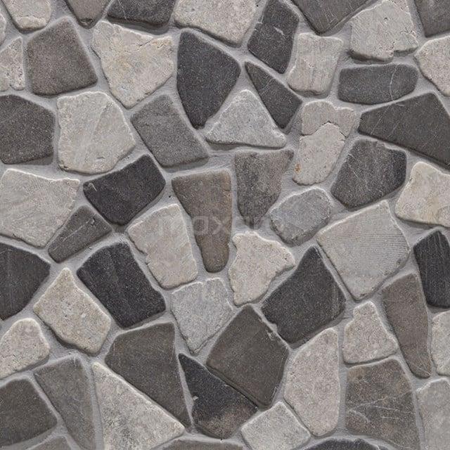Mozaïek Pedra Mix Grey 30x30cm Natuursteen Multicolor Mat 306-060102