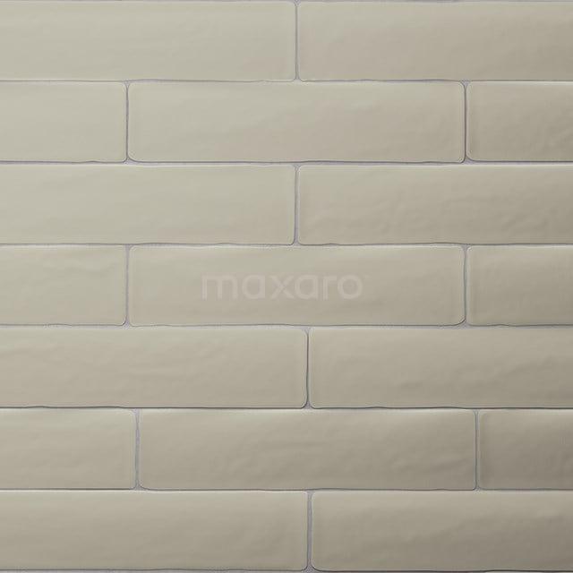 Wandtegel Horizon 7,7x28,5cm Uni Groen Mat Handvorm 501-030103
