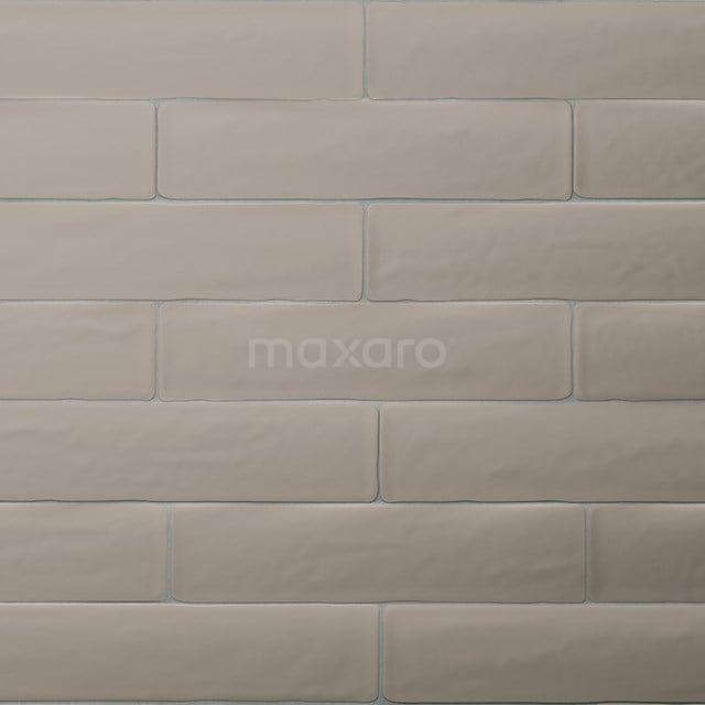 Wandtegel Horizon 7,7x28,5cm Uni Bruin Mat Handvorm 501-030104