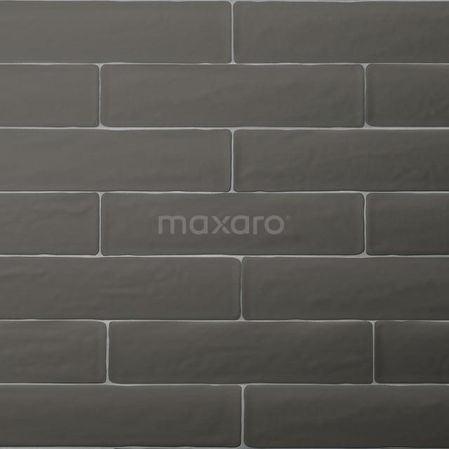 Wandtegel Horizon 7,7x28,5cm Uni Grijs Mat Handvorm 501-030105