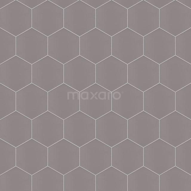 Vloertegel/Wandtegel Aspect 21,5x25cm Uni Basalt Hexagon 501-090103