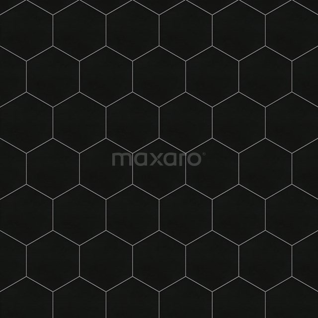 Tegelsample, Vloertegel/Wandtegel, Aspect Zwart 501-0904TS
