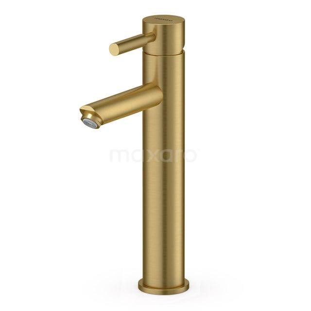Hoge Wastafelkraan Radius Gold, Eéngreeps Mengkraan, Goud 55.003.521GGN