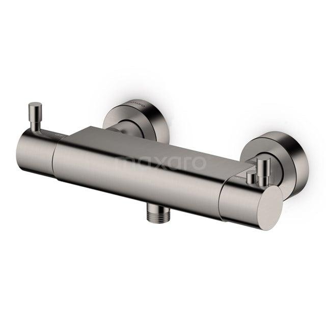 Thermostatische Douchekraan Radius Steel, Rvs-look 55.106.202BR