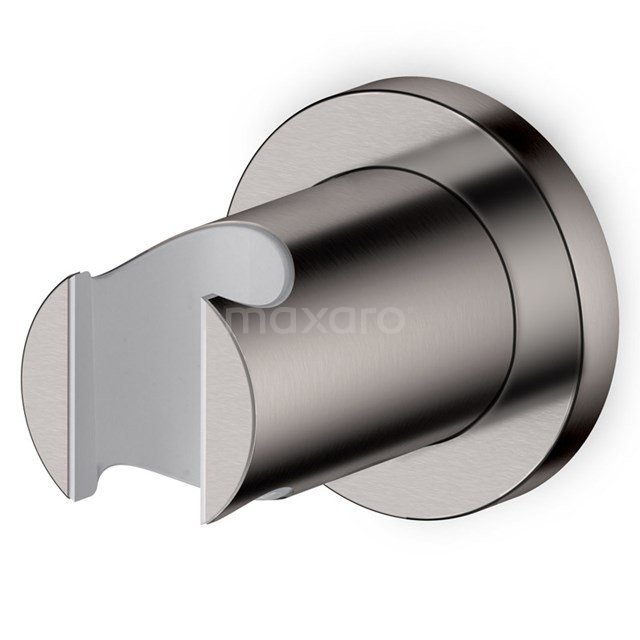 Handdouchehouder Radius Steel, Wandmontage, Rvs-Look 55.156.100BR