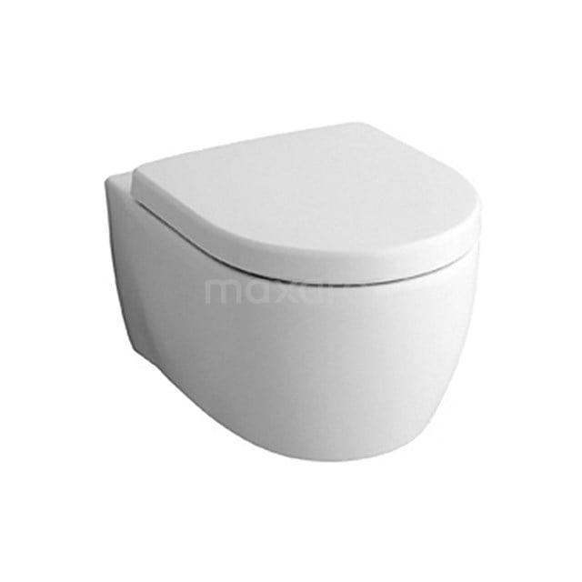 Geberit Icon Verkort Toilet, Zonder Spoelrand, Diepspoel, Wit 911013769