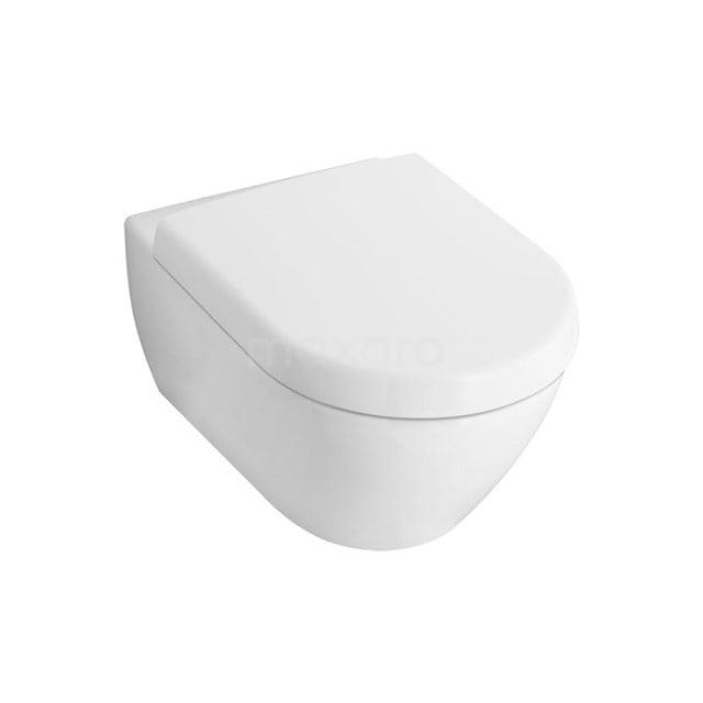 Villeroy en Boch Subway 2.0 Verkort Toilet, Diepspoel, Wit 911010505