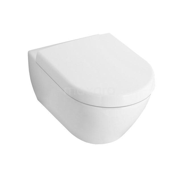 Villeroy en Boch Subway 2.0 Toilet, Diepspoel, Wit 911010523
