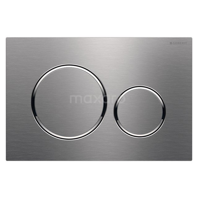 Bedieningspaneel Toilet Sigma 20 Brushed Steel 911013552