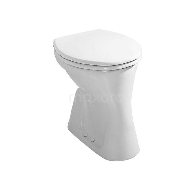 Toiletpot Staand Dino Vlakspoel Wit 911013600
