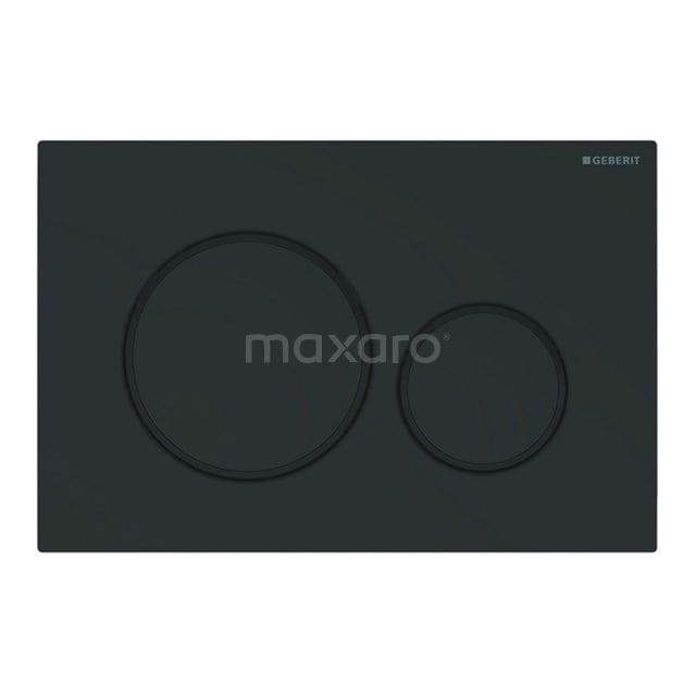 Bedieningspaneel Toilet Sigma 20 Zwart Mat 911013788