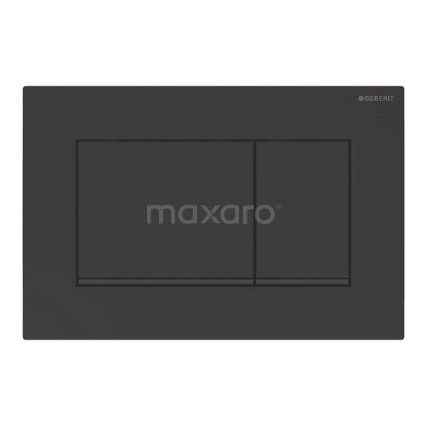Bedieningspaneel Toilet Sigma 30 Zwart Mat 911013789