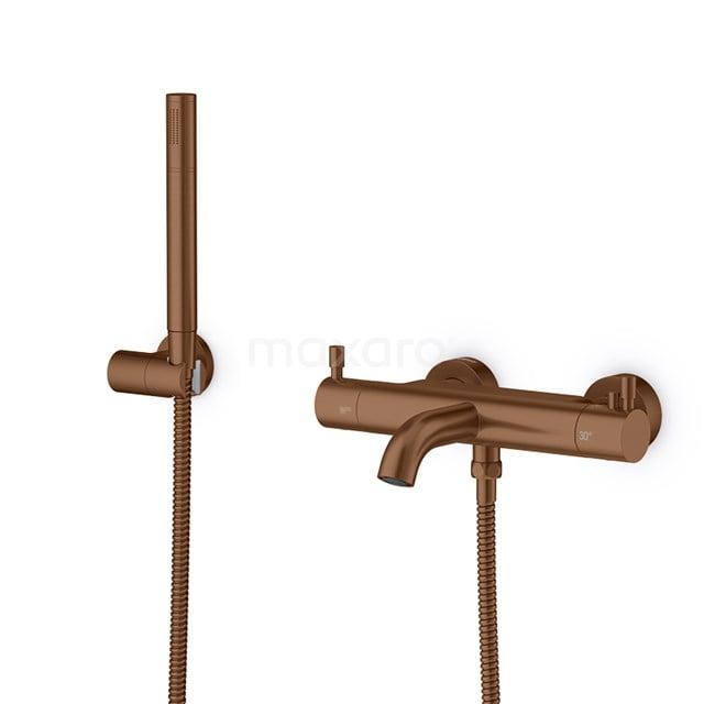 Thermostatische Badkraan met Handdouche Radius Copper, Koper BSC-5503-40000