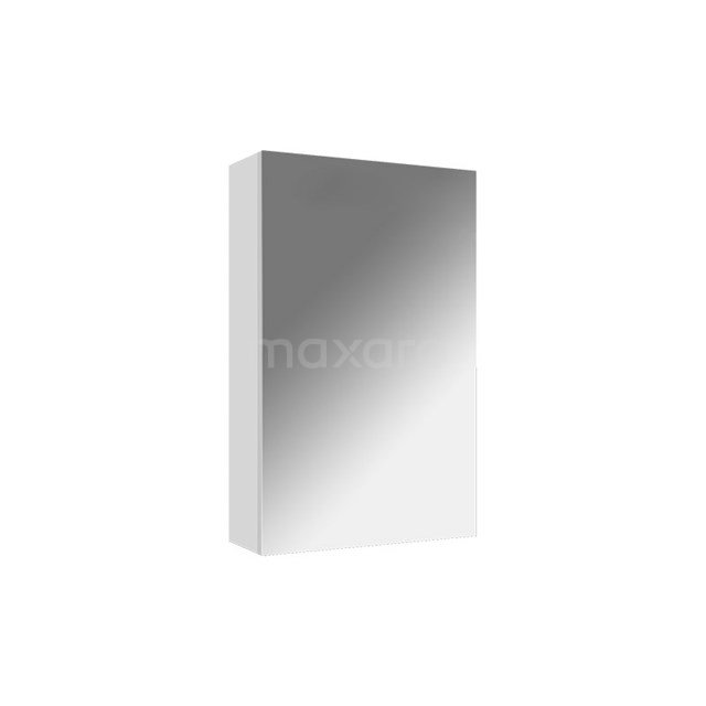 Spiegelkast Lato 40x62cm Hoogglans Wit 1 Deur K01-0400-40401