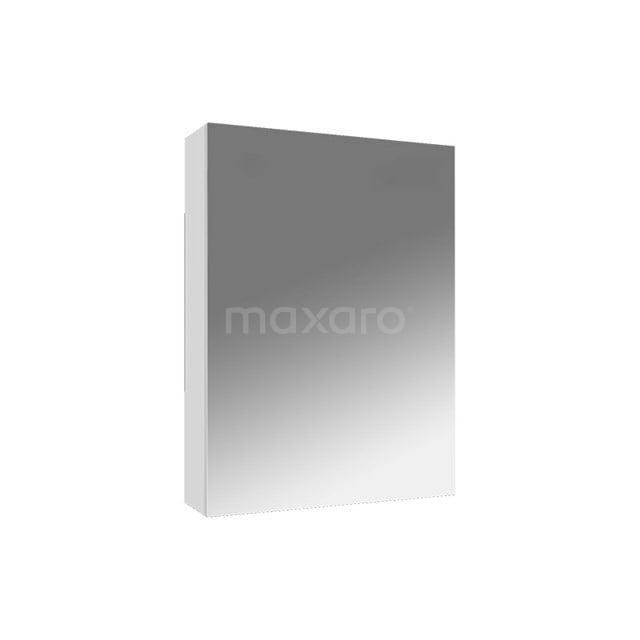 Spiegelkast Lato 45x62cm Hoogglans Wit 1 Deur K01-0450-40401