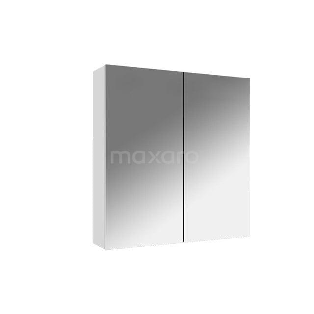 Spiegelkast Lato 60x62cm Hoogglans Wit 2 Deuren K01-0600-40400