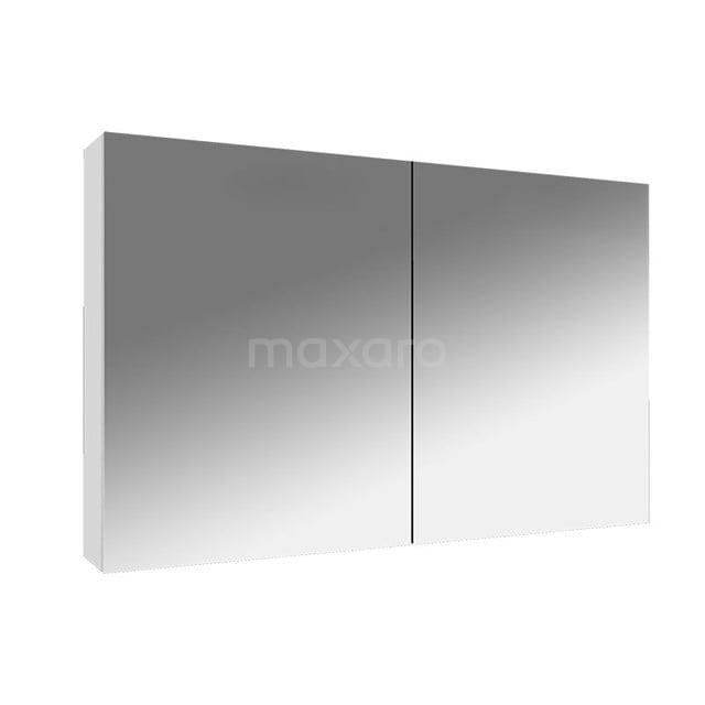 Spiegelkast Lato 100x62cm Hoogglans Wit 2 Deuren K01-1000-40400